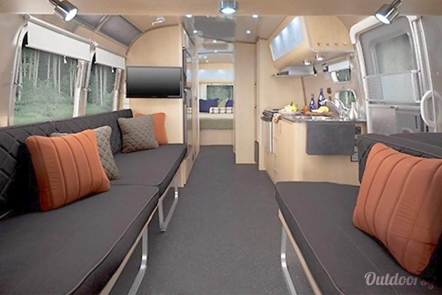 Eddie Bauer Airstream Interior